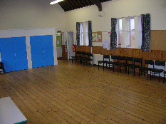 Main Hall looking west